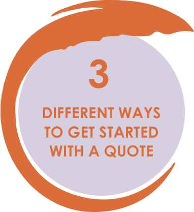 3 Different Ways to Get Started With a Quote